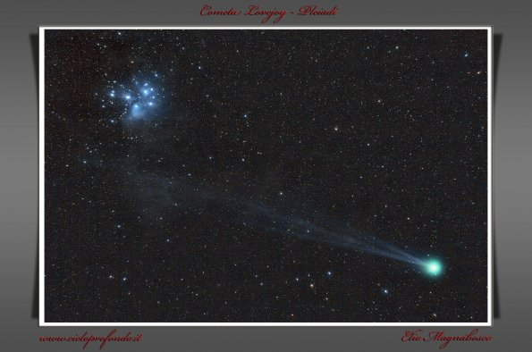 Lovejoy e Pleiadi.